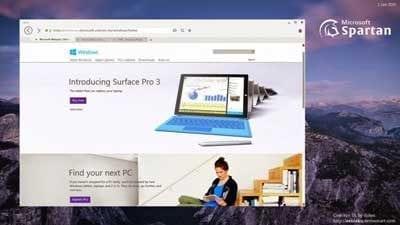 Windows 10 aduce cu noul Browser Spartan!