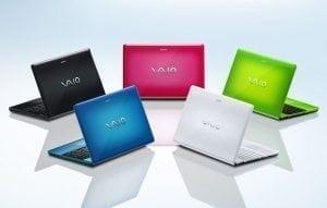 Reparații laptop Sony Vaio